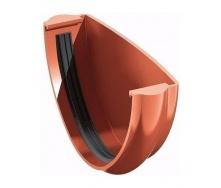 Заглушка желоба ТехноНИКОЛЬ 125 мм красный