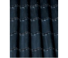 Керамическая черепица CREATON Sinfonie 300х482 мм (black glazed)