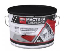 Мастика для гибкой черепицы ТехноНИКОЛЬ №23 Фиксер УКР 36 кг