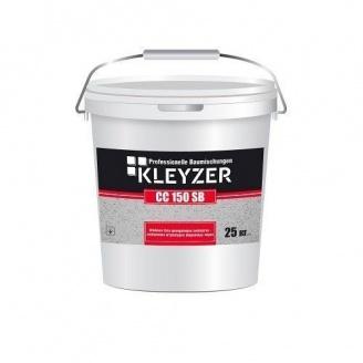 Декоративная силикатно-силиконовая штукатурка Kleyzer СС 150 SB Барашек финишная 25 кг белая