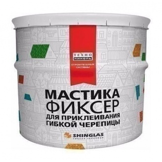 Мастика для гибкой черепицы ТехноНИКОЛЬ №23 Фиксер 3,6 кг