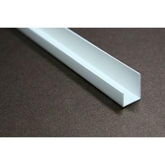 Уголок торцовочный ПВХ для гипсокартона 12,5 мм 3 м