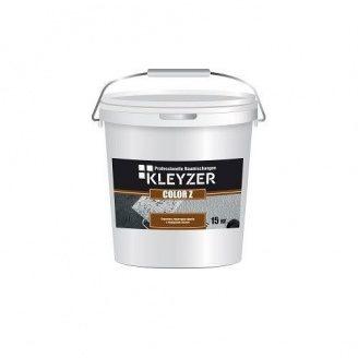 Структурная кварцевая краска Kleyzer COLOR Z 20 кг белая