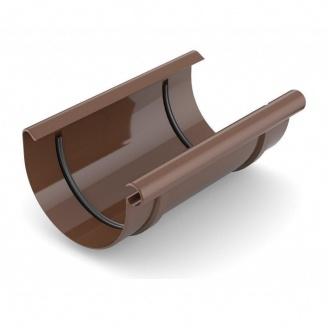 Муфта желоба Bryza 125 240 мм коричневый