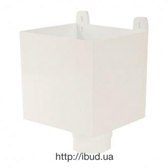 Воронка ливнеприемная Nicoll 33 100 мм белый