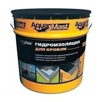 Мастика ТехноНИКОЛЬ AquaMast битумно-резиновая РБ 18 кг