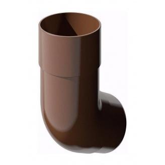 Колено трубы ТехноНИКОЛЬ 135 градусов 82 мм коричневый