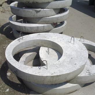 Плита перекрытия колодца БЗСК 1ПП 25-2в 2800х250 мм 4,2 т