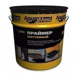 Праймер ТехноНИКОЛЬ AquaMast битумный УКР 10 л