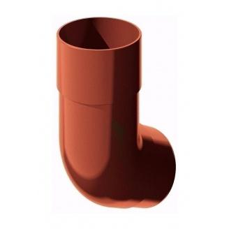 Колено трубы ТехноНИКОЛЬ 135 градусов 82 мм красный