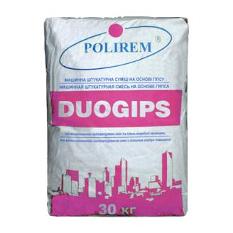 Штукатурка POLIREM Duogips 30 кг
