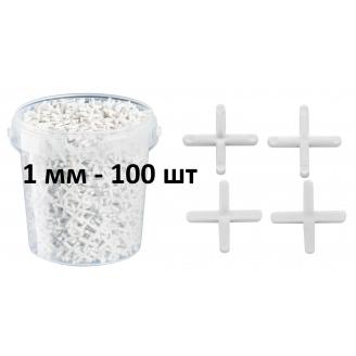 Крестики для плитки 1 мм 100 шт