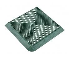 Газонная решетка Альта-Профиль с дополнительным обрамлением 18 мм 400х400 мм зеленый