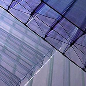 Стільниковий полікарбонат Plazit Polygal Titan 16 мм 2,1х3 м