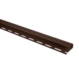 Отделочная планка для откосов Альта-Профиль 3 м коричневый