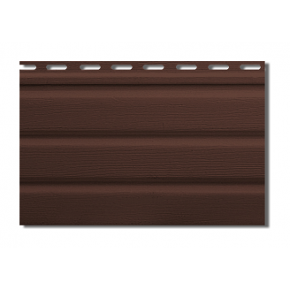 Софит Альта-Профиль Т-19-УN без перфорации 3000х230 мм коричневый