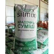 Смесь кладочная для клинкерного кирпича Silmix белая 25 кг