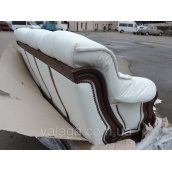 Шкіряний диван Luxur, шкіряний гарнітур. шкіряний комплект