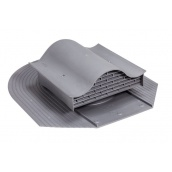 Покрівельний вентиль VILPE CLASSIC-KTV 351х266 мм сірий