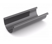Желоб водосточный Bryza 100 мм 3 м графит