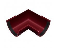 Угол желоба внутренний Rainway 90 градусов 130 мм красный