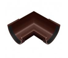 Угол желоба внутренний Rainway 90 градусов 90 мм коричневый