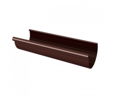 Желоб Rainway 3 м 90 мм коричневый