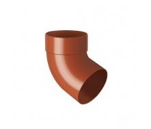 Отвод одномуфтовый Rainway 67 градусов 100 мм кирпичный