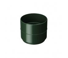 Муфта водосточной трубы Rainway 100 мм зеленая