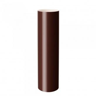 Труба водосточная Rainway 3 м 75 мм коричневая