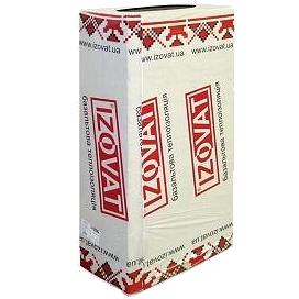 Плита изоляционная IZOVAT 110 Inc 1200х600 мм