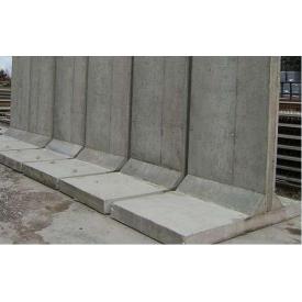 Подпорная стенка Инжбетон ИСА 67 6000х1600х400х176 мм