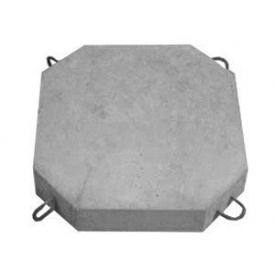 Блок укрепления Инжбетон Б-8 500х500х80 мм