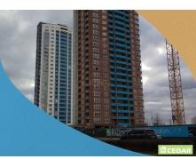 Фіброцементний вентильований фасад Cedar 1200х3000 мм блакитний