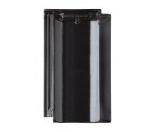 Черепица Braas Топаз 11V Глазурь 445х265 мм иссиня черный