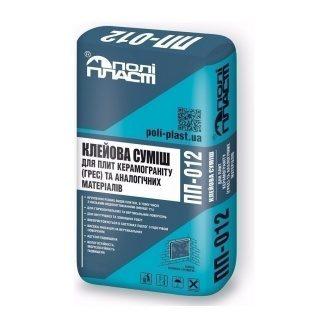 Клеевая смесь для плит керамогранита ГРЕС Полипласт ПП-012 25 кг