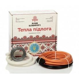Нагревательный кабель Наш комфорт БНК-1440 двухжильный 80 м