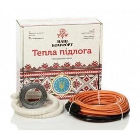 Нагревательный кабель Наш комфорт БНК-930 двухжильный 53 м