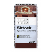 Клеевая смесь Shtock термостойкая 20 кг
