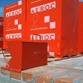 Газоблок Аерок D500 паз-гребінь 300х200х600 мм Березань