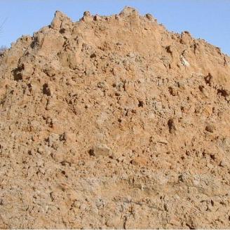 Суглинок строительный насыпью