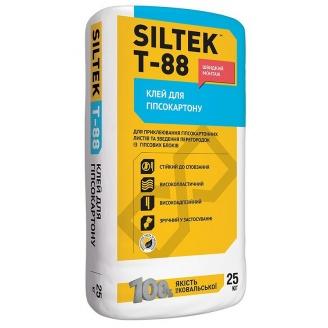 Клей для гипсокартона SILTEK Т-88 25 кг