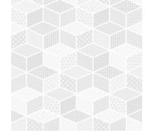 Керамічна плитка KERAMIN Тренд 7П 400х400 мм біла матова