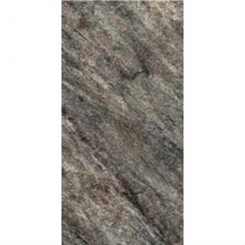 Плитка для пола KERAMIN Кварцит 2 керамогранит 300х600 мм темно-серая рельефная
