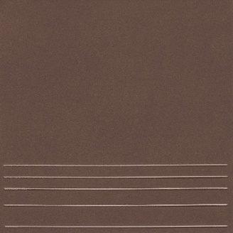 Клинкерная плитка KERAMIN Амстердам 4 ступень 298х298 мм темно-коричневая