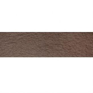Клинкерная плитка рельефная KERAMIN Амстердам 4 245х65 мм темно-коричневая