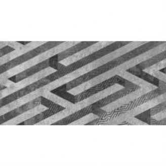 Панно KERAMIN Нью-Йорк 300х600 мм серое матовое