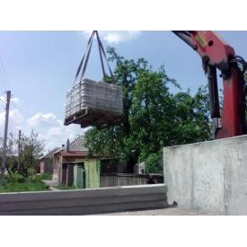 Доставка двостороннього бетонного паркану Skala