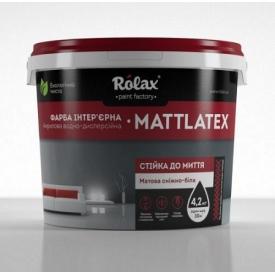 Краска Акрилсупер Matlatex Ролакс 14 кг 10 л