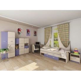 Детская мебель Jasmine Blonski №4 дсп светлый коимбра-синий